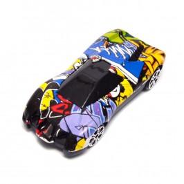 Спортен автомобил с отварящи се врати - Racer car model