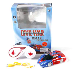 Количка с радиоуправление Captain America