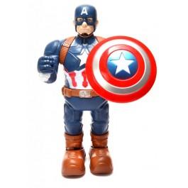"""Интерактивен светещ детски робот – """"Captain America"""""""