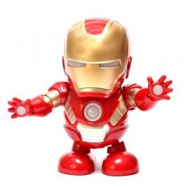 Детски светещ и танцуващ робот -  Iron Man