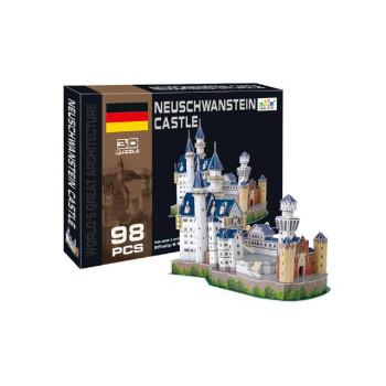 """3D пъзел от 98 части -  """"Нойшванщайн"""""""