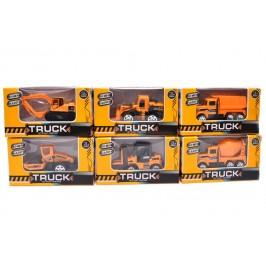 Класически детски строителни камиони и багери