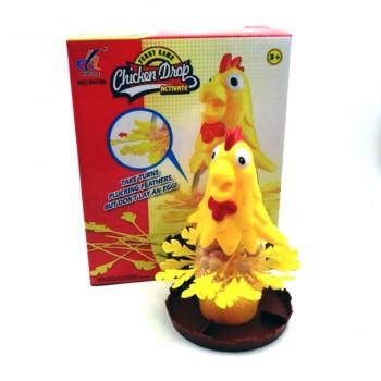 """Забавна настолна игра """"Оскуби кокошката"""""""