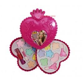 Детски комплект за гримиране във формата сърце