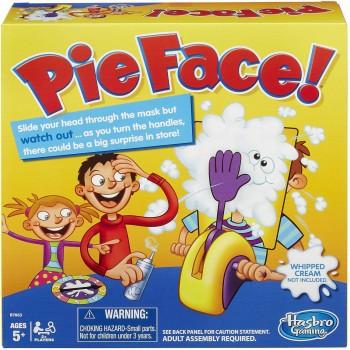 Занимателна игра за деца - Пай в лицето (Pie Face)