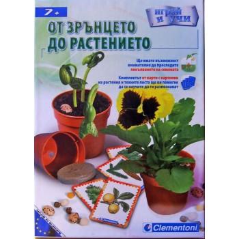 """Образователна игра """"От Зрънцето до Растението"""""""