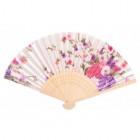 Сувенирно ветрило, декорирано с цветя