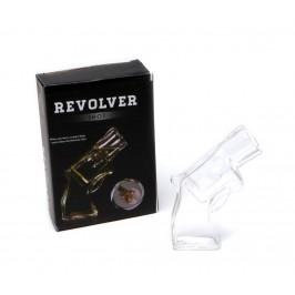 Забавна стъклена чаша във формата на револвер
