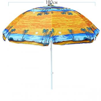 Плажен чадър със стопер