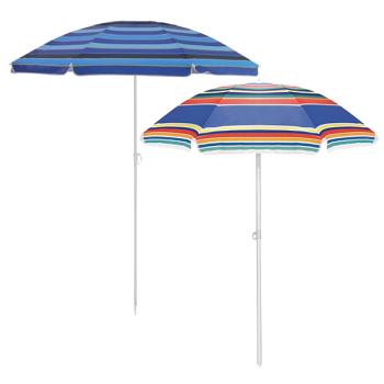 Плажен чадър с чанта за носене