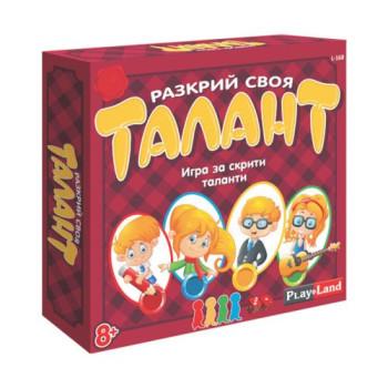 Игра РАЗКРИЙ СВОЯ ТАЛАНТ L-168
