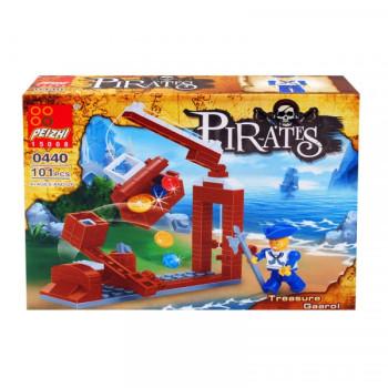 """Конструктор """"Пирати"""" /101 елемента/ - подарък за деца"""