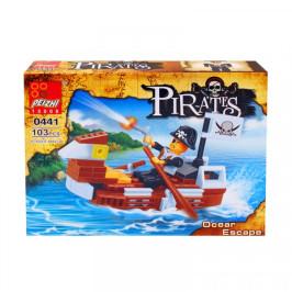 """Конструктор """"Пирати"""" /103 елемента/ - подарък за деца"""