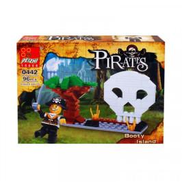 """Конструктор """"Пирати"""" /96 елемента/ - подарък за деца"""