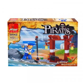 """Конструктор """"Пирати"""" /102 елемента/ - подарък за деца"""
