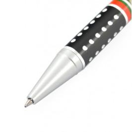 Сувенирен химикал с PVC корпус, клипс и удобен бутон за включване