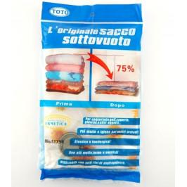 Вакуумиращ плик за опаковка и съхранение на дрехи - 68х98см