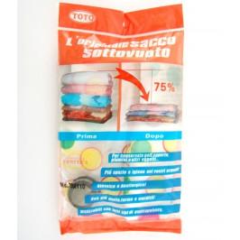 Вакуумиращ плик за опаковка и съхранение на дрехи - 70х110см