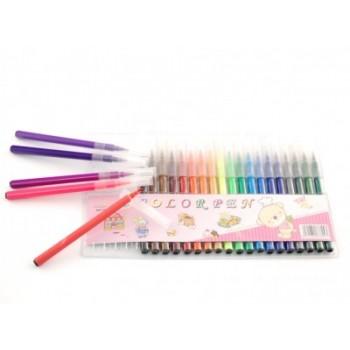 Комплект цветни флумастри - 24 броя