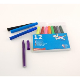 Комплект маркери - 12 цвята