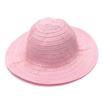 Красива платнена шапка, декорирана с блестящи нишки