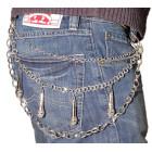 Атрактивен висящ аксесоар за джинси