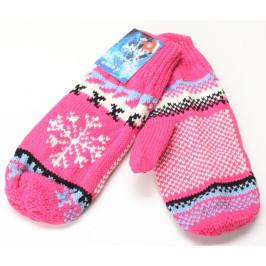 Красиви плетени ръкавички с един пръст