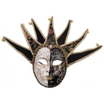 Декоративна фигурка маска за окачване, изработена от порцелан
