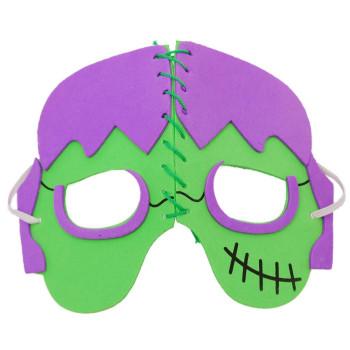 Карнавална маска, изработена от дунапрен