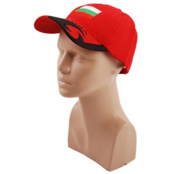 Спортна лятна шапка от плат с козирка