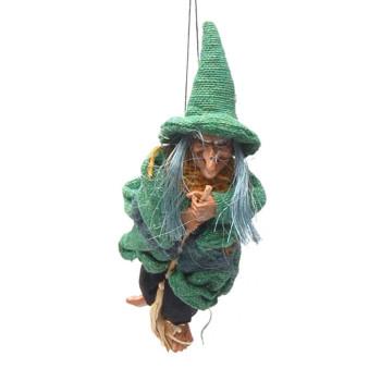 Сувенирна кукла - Баба Яга, с възможност за окачване
