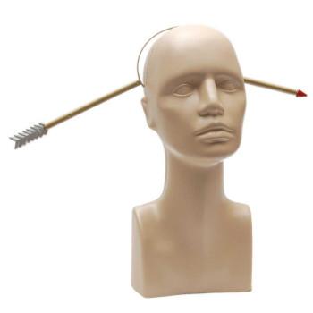 Парти артикул - стрела през главата, изработен от PVC материал