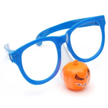 Парти аксесоар - светещи очила с нос във формата на фигурка