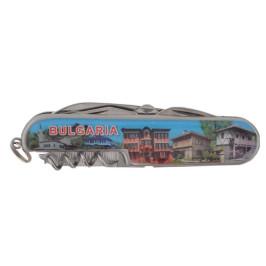Сувенирен джобен нож - забележителности от България