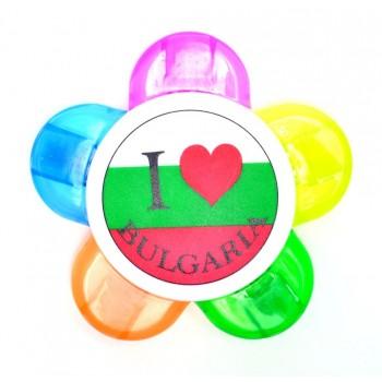Флумастер 5 в 1 с надпис I ♥ Bulgaria