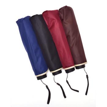 Едноцветен, сгъваем чадър с метален механизъм