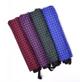 Двуцветен, сгъваем чадър с метален механизъм