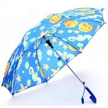 Весел и красив сгъваем чадър със забавни декорации и свирка