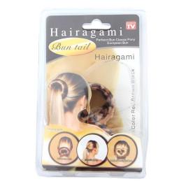 Аксесоар за коса за направата на бърз и лесен кок - пречупваща лента