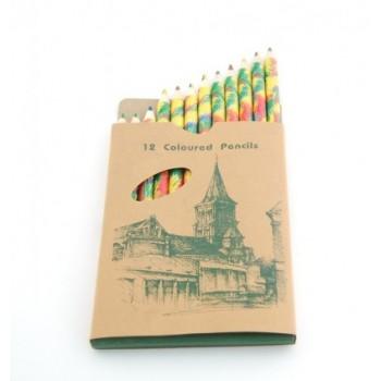 Цветни моливи -12бр