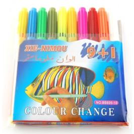 Комплект маркери - 10 цвята