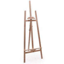 Статив (триножник) с регулируема височина, подходящ както за рисуване, така и за излагане на творби