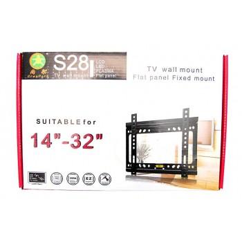 Стенна стойка за LCD монитор или телевизор - неподвижна