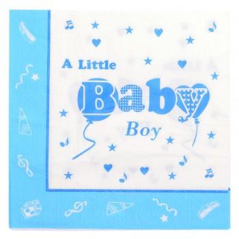 Парти артикул - слафтека с надпис - A little baby boy/girl