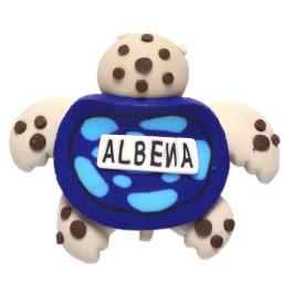 Сувенирна гумена фигурка с магнит - костенурка