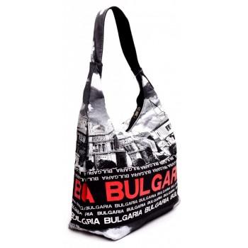 Дамска чанта, изработена от текстил