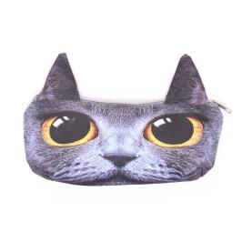 Несесер за моливи и хмикали, апликиран с животно с ушички