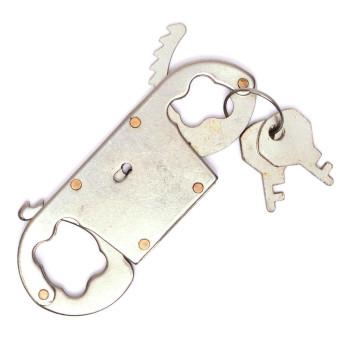 Метални белезници за пръсти с 2 ключета