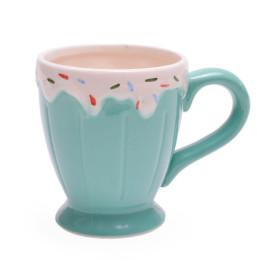 Забавна чаша във формата на чашка с разстопен сладолед с дръжка