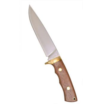 Нож с бяло острие с надпис Bulgaria върху него